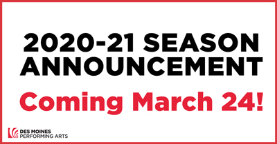 Season announcement 20-21